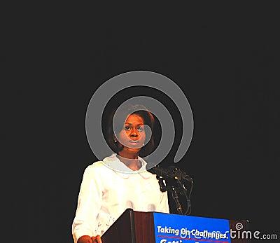 Michelle Obama Editorial Stock Image