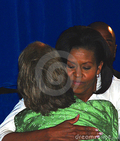 Michelle Obama Editorial Photo
