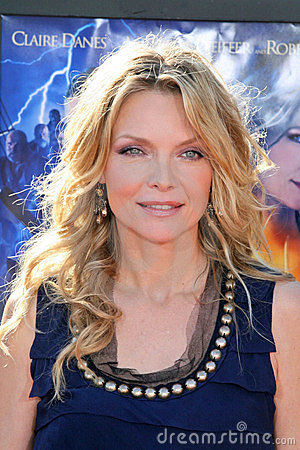 Michelle Pfeiffer Editorial Image