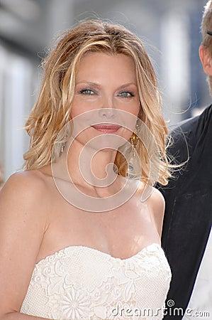 Michelle Pfeiffer Editorial Stock Image