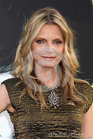 Michelle Pfeiffer,The Darkness Editorial Stock Photo