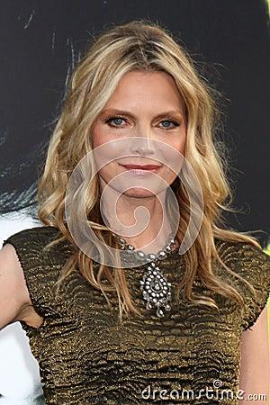 Michelle Pfeiffer,The Darkness Editorial Stock Photo
