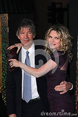 Michelle Pfeiffer, David E. Kelley, Editorial Stock Image