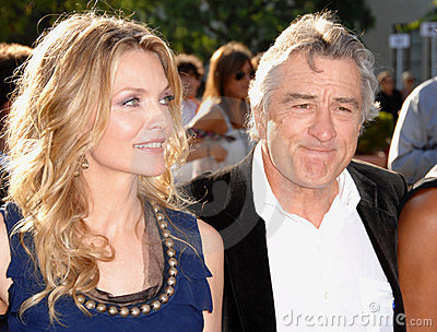 Michelle Pfeiffer, Robert De Niro Editorial Image