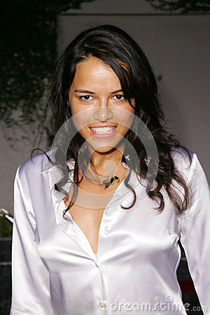 Michelle Rodriguez Editorial Stock Photo