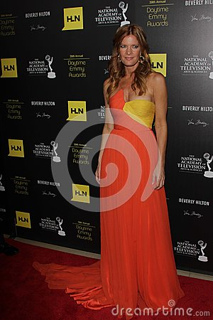 Michelle Stafford at the 39th Annual Daytime Emmy Awards, Beverly Hilton, Beverly Hills, CA 06-23-12 Editorial Image