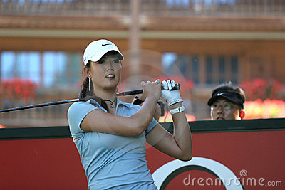 Michelle Wie, Crans Montana Masters 2006 Editorial Photography