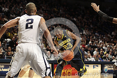 Michigan guard Caris Lavert Editorial Photography