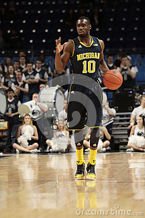 Michigan guard Tim Hardaway Jr. # 10 Editorial Photography