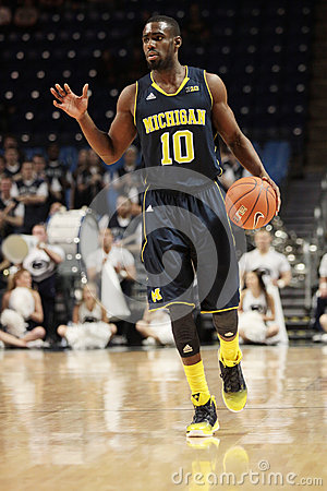 Michigan guard Tim Hardaway Jr. Editorial Stock Photo
