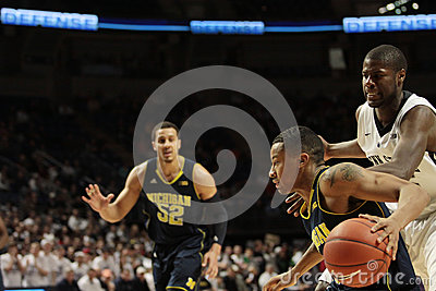 Michigan guard Trey Burke Editorial Photography