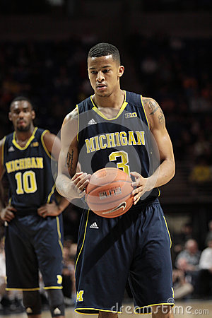 Michigan guard Trey Burke Editorial Stock Image