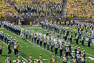 Michigan Marching Band 2 Editorial Photo