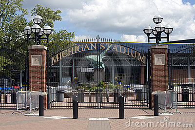 Michigan Stadium - the Big House Editorial Image