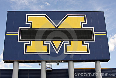 Michigan Stadium - the Big House Editorial Photography