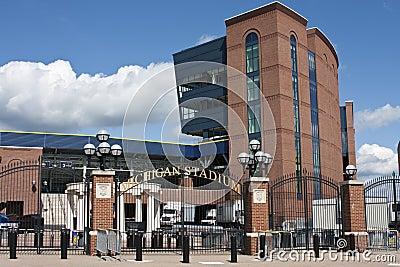 Michigan Stadium - the Big House Editorial Stock Photo