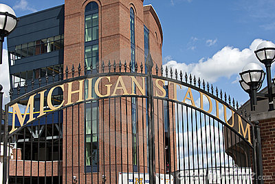 Michigan Stadium - the Big House Editorial Stock Photo