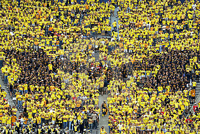 Michigan Wolverines M Editorial Image
