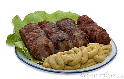 Mici - Meatballs - Romanian Traditional Dish