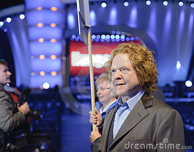 Mick Hucknall Editorial Image