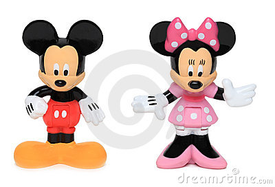 Mickey and Minnie mouse Editorial Photo