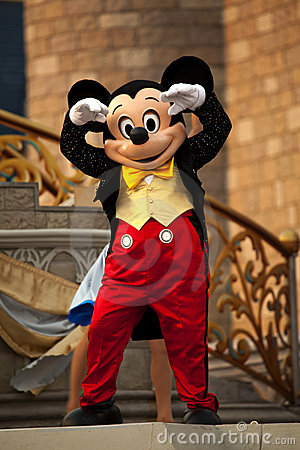 Mickey Mouse Redactionele Fotografie