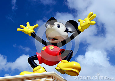 Disney Mickey Mouse  Editorial Stock Photo