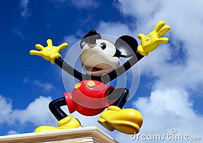 Disney Mickey Mouse Editorial Stock Photo