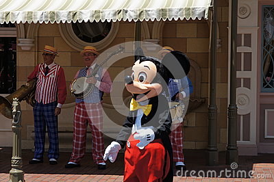 Mickey Mouse at Disneyland Editorial Photo