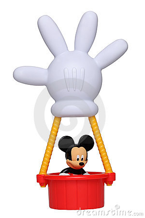 Mickey Mouse in his hot air balloon Editorial Photography