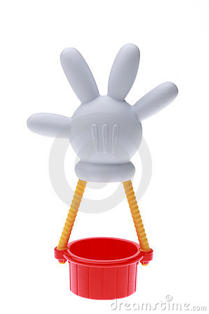 Mickey Mouse hot air balloon Editorial Stock Image