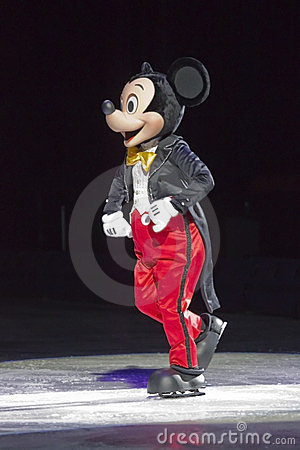 Mickey Mouse on Ice Editorial Photography