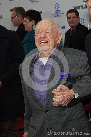 Mickey Rooney Editorial Photo