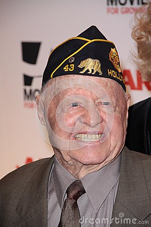 Mickey Rooney Editorial Image