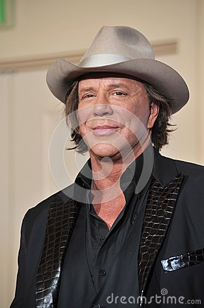 Mickey Rourke Editorial Photography