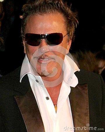 Mickey Rourke Editorial Stock Photo