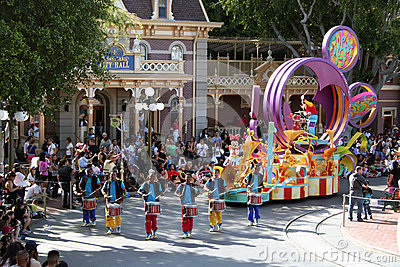 Mickey s Soundsetional Parade Editorial Photo