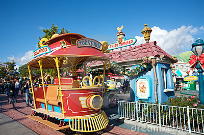 Mickey s Toontown at Disneyland Editorial Photo