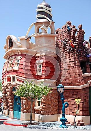 Free Mickey S Toontown In Disneyland Stock Photography - 16518712