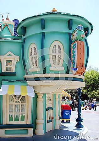 Free Mickey S Toontown In Disneyland California Stock Images - 16518624