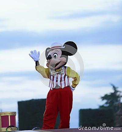 Mickeymus Redaktionell Arkivbild