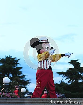 Mickeymus Redaktionell Foto