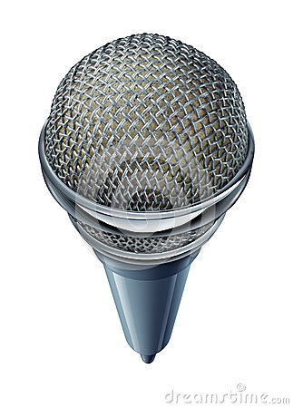 Micrófono aislado