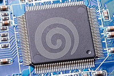 Micro chip close up