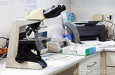 Microbiology laboratory