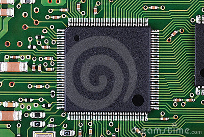 Microchip and pcb macro