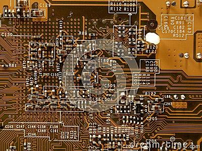 Microchip van videocard, II