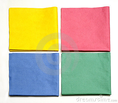 Microfiber cloths cleaning