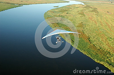 Microlight - Chobe River