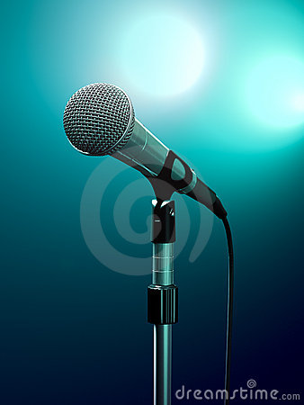 Free Microphone Royalty Free Stock Photos - 11745368